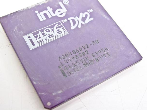 Intel  486/50Mhz Processor A80486DX2-50 SX954