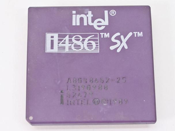 Intel SX679 i486/25MHz SX CPU A80486SX-25 - BOOTS TO BIOS