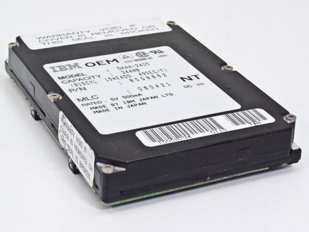 IBM 85G8862 344MB Laptop Hard Drive Model DHAA-2405 - MLC D60421