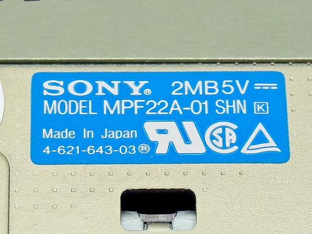 Sony 2.0MB Slim Internal Floppy Drive (MPF22A-01)