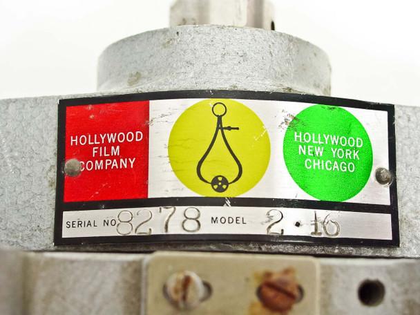 Hollywood Film Company 2.16 2-Gang 16mm Film Synchronizer - Missing Feet