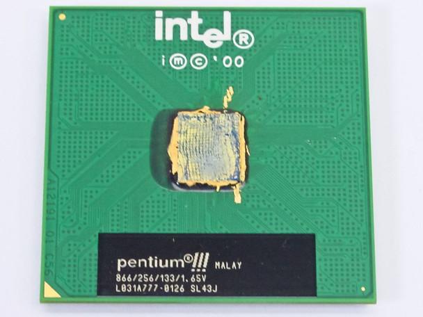 Intel SL43J Pentium III 866 MHz Socket 370 CPU Chip