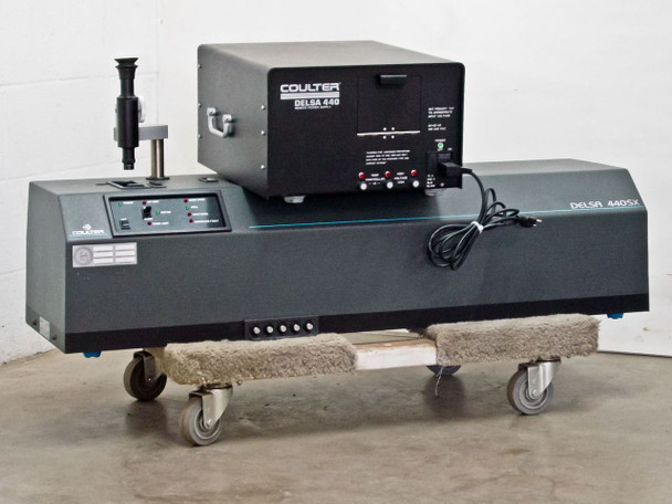 Beckman Coulter 440SX Delsa Laser Particle Measuring Unit Delsa 440 PSU - As Is