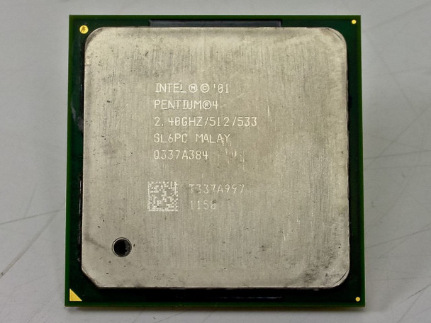Intel SL6PC P4 2.4GHz CPU Processor Chip Socket 478 512KB 533MHz