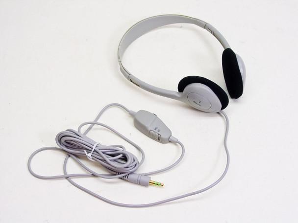 HP 5182-3552 BOX of 20: LT-100 3.5mm Computer Headphones Stereo Mono Vol Control