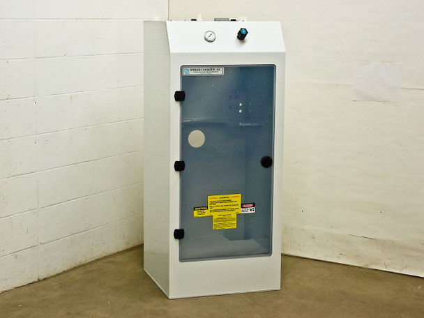 Systems Chemistry Inc. Chemical Tank Delivery System Enclosure 24 x 23 x 57