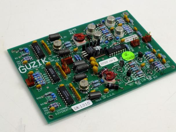 Guzik External Differential 15/92 AEI Circuit Board (300663)