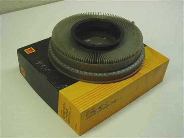 Kodak Ektagraphic Universal Slide Projector Tray and New