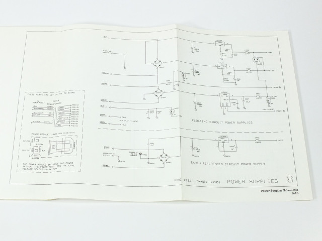 HP 34401-90012 34401A Multimeter Service Guide