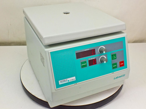 Hermle Z200a Centrifuge 6000 Rpm With 6 Place Rotor 220 97