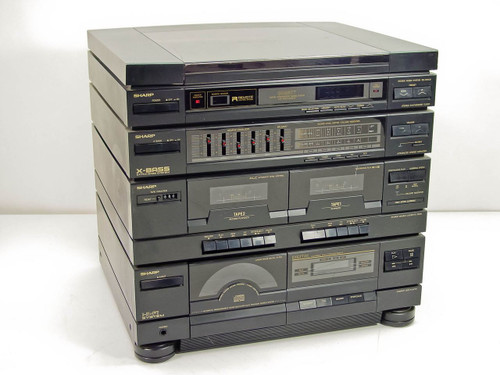 Sharp Sg 950cd Integrated Stereo Music System