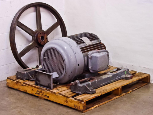The Louis Allis Co Cex 30 Hp Electric Motor 230 460 Volt