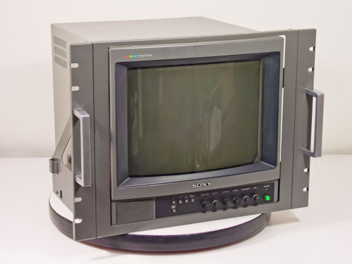 Sony Pvm 1340 13 Quot Color Monitor W 19 Quot Rackmount Ears