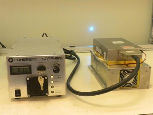 Coherent Sapphire 488 200 Cdrh Opsl Blue Laser 200 Mw Head
