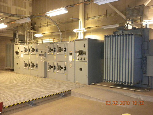 Ge Industrial Systems 2500kva Double Ended Substation