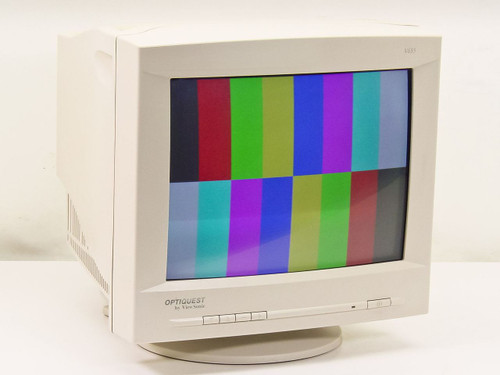 "Viewsonic V655-2M 15"" SVGA Monitor Optiquest   RecycledGoods.com"
