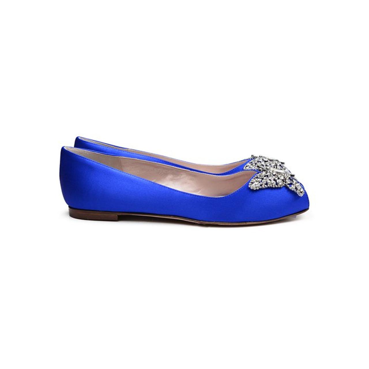Liana Cobalt Blue Satin
