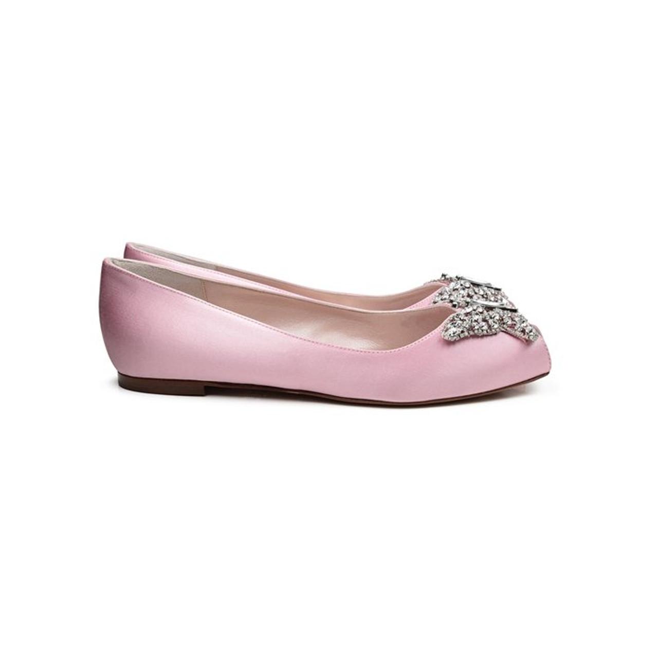 Liana Baby Pink Satin