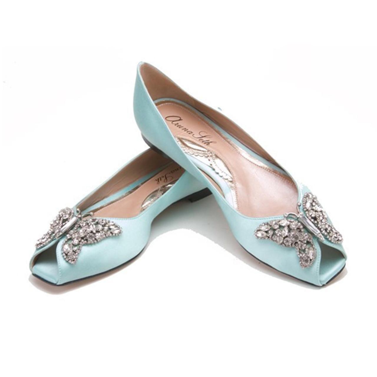 Liana Tiffany Blue Satin