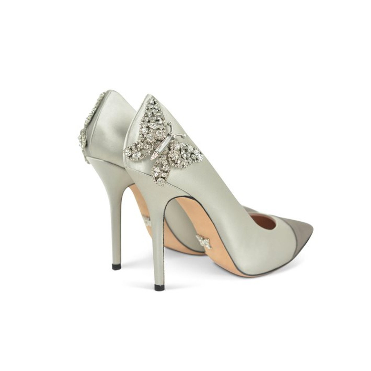 Aria Pointed Toe Two Tone Side Butterfly