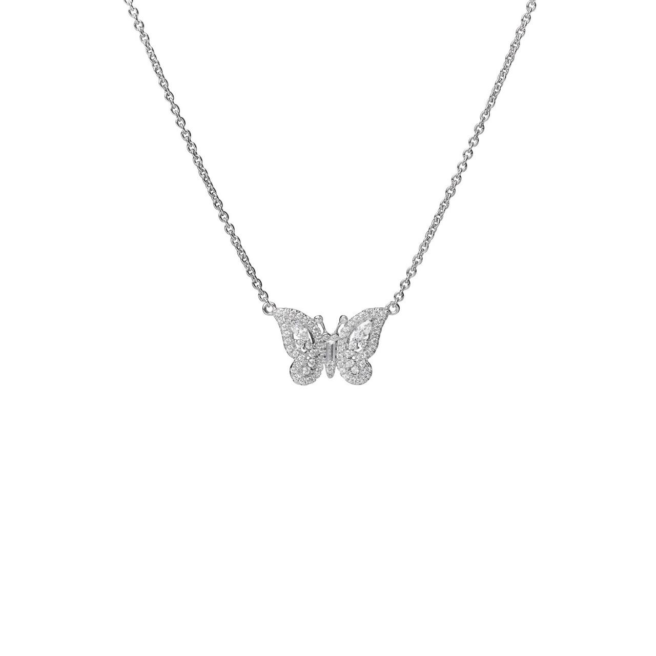 Butterfly Swarovski Necklace
