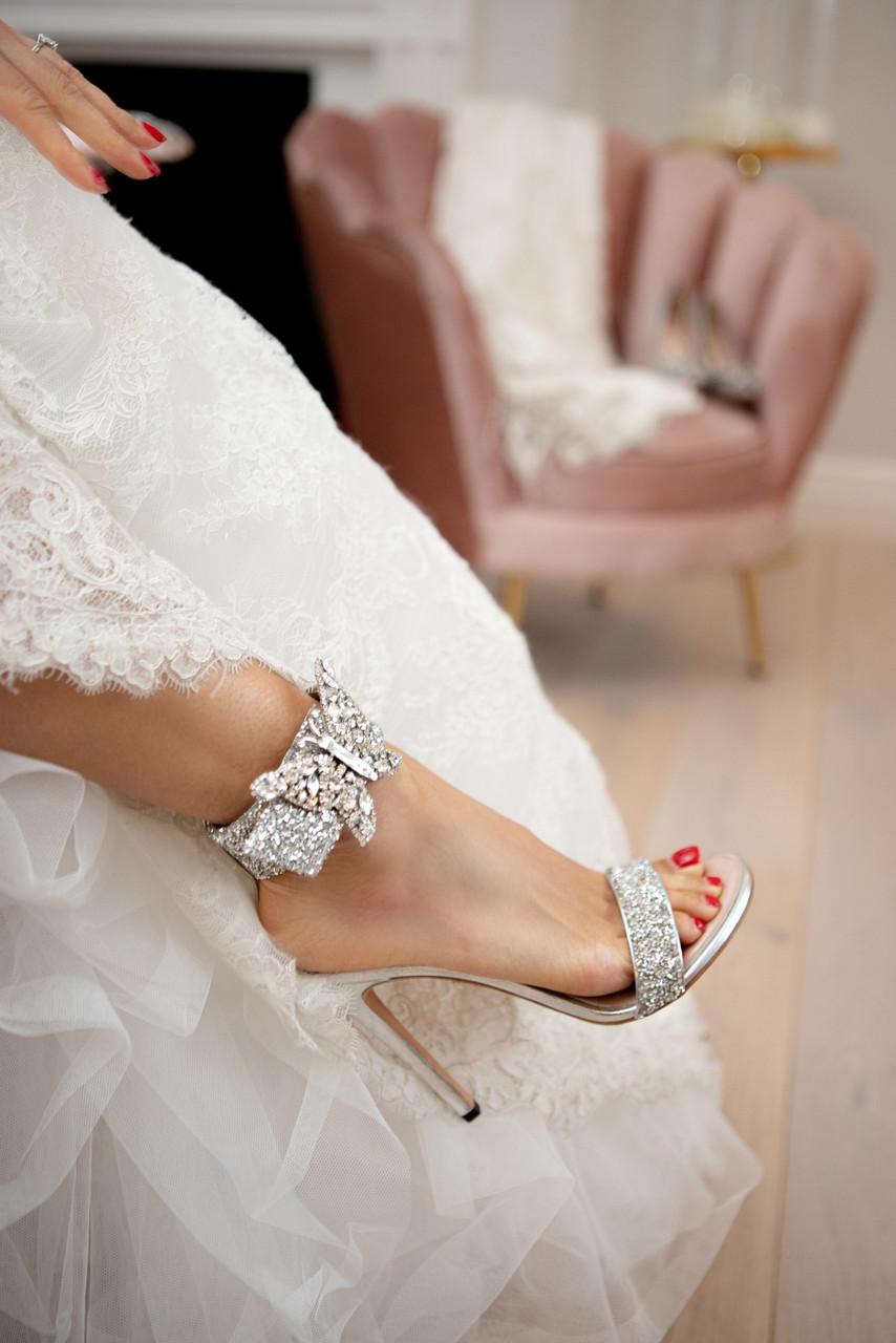 Crystal Portofino Farfalla Sandals