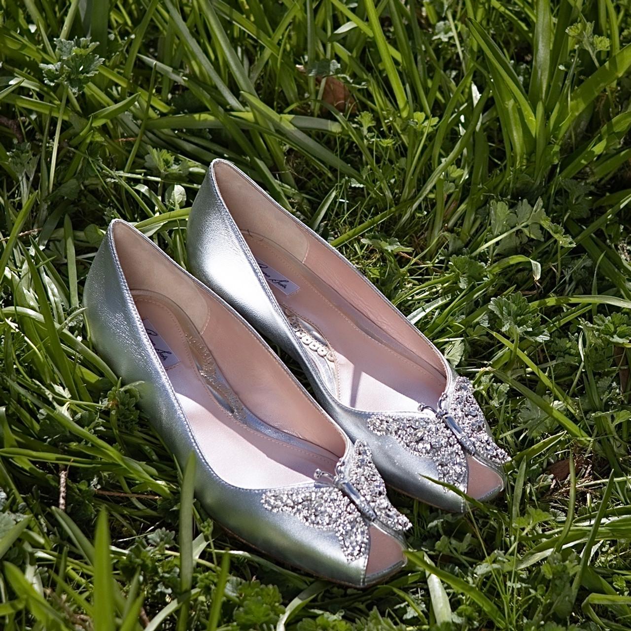 Liana Silver Leather