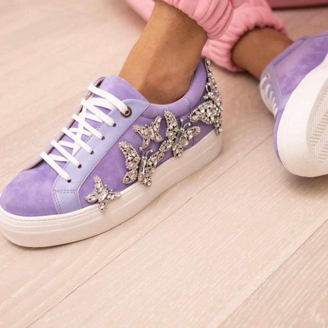 Jet Sneaker Purple Suede