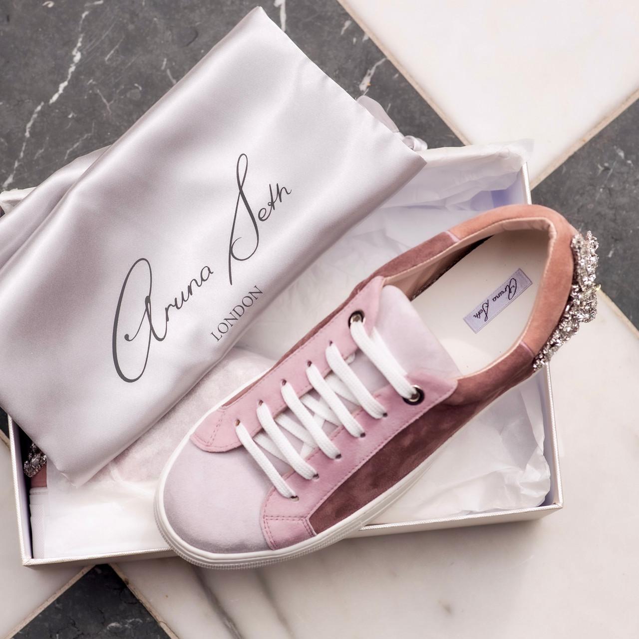 Rocket Sneaker Rose Tonal