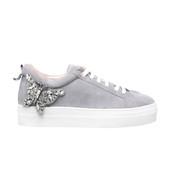 Rocket Grey Suede Sneakers