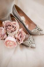 Farfalla Silver Glitter Pointy