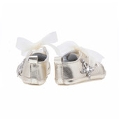 Baby Rocket Gold Leather Sneaker