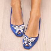 Liana Royal Blue Satin