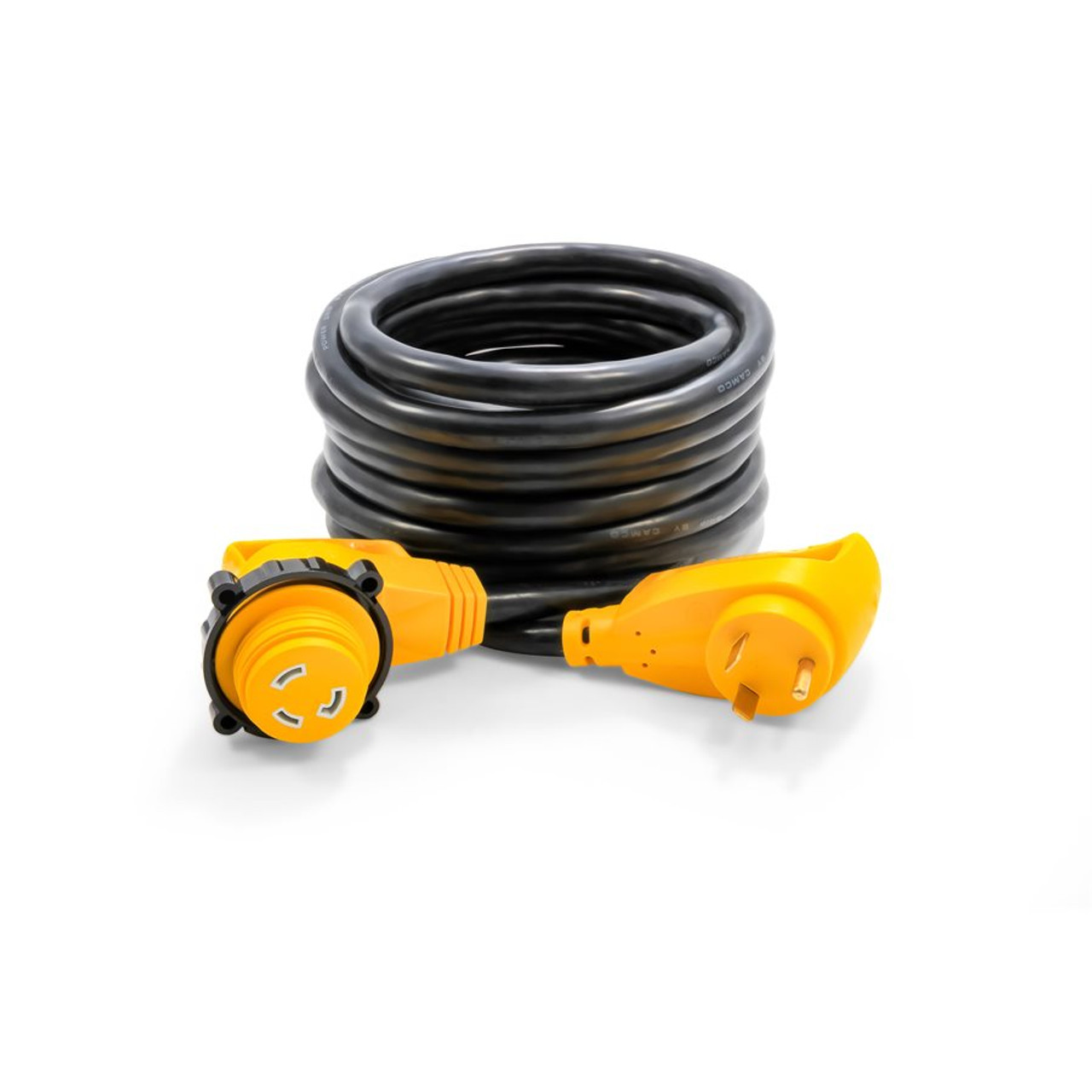 Camco 30amp Power Grip 25 Extension Cord Locking Adapter Portsmouth Trailer Supply