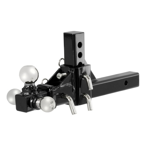 CURT Adjustable Tri-Ball Mount #45799 Image 1