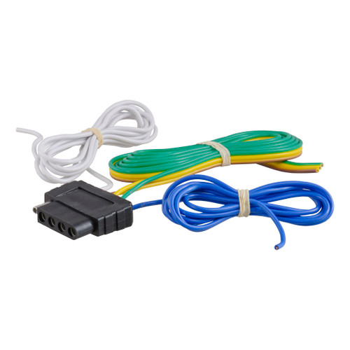 CURT 5-Way Flat Bonded Wiring Connector #58530 Image 1