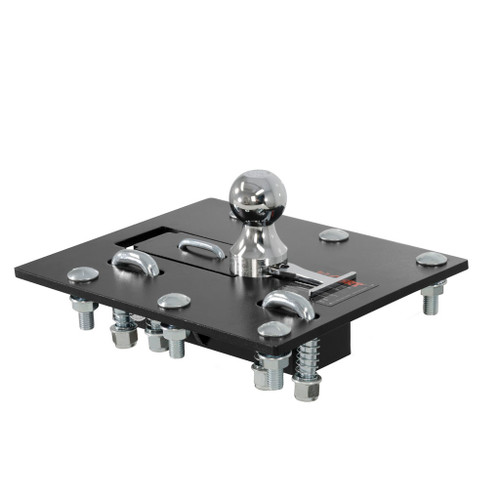 CURT Over-Bed Folding Ball Gooseneck HItch #61052 Image 1