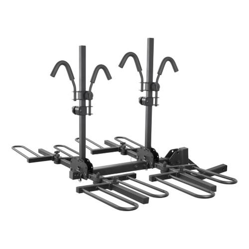 CURT Hitch-Mounted Tray-Style Bike Rack #18086 Image 1