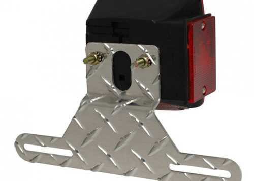 CE Smith Aluminum License Plate Bracket - 26053A