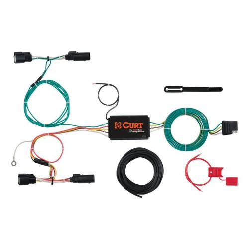 Curt Custom Wiring Harness - FORD FOCUS HATCH 15-18
