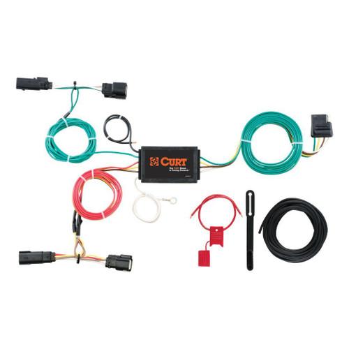 Curt Custom Wiring Harness -FORD EDGE 15-18