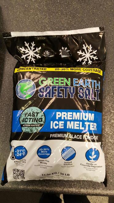 Icinator Premium Blue Ice Melt 25# Bag