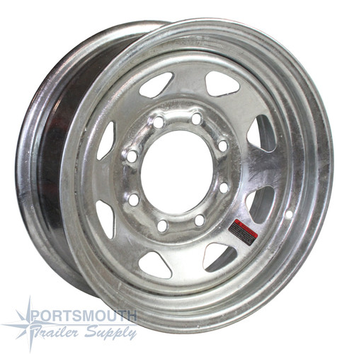 "16"" Wheel - 8 Lug - Galvanized"