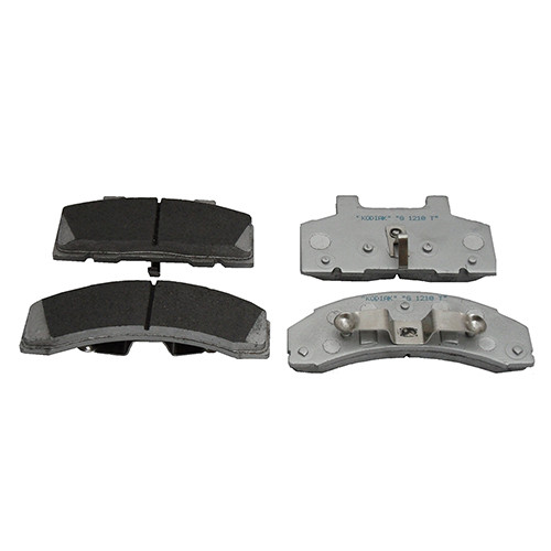 Kodiak 250 Ceramic Pad with Stainless Steel Backing 8 Lug - DBC-250-CRM-PAD-SS