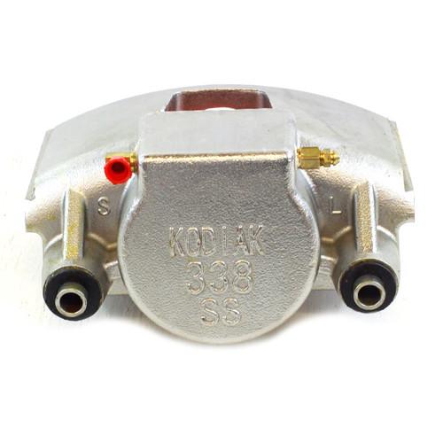 Kodiak 338 Stainless Steel Caliper 8 Lug - DBC-338-SS