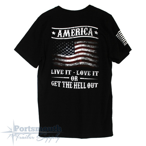 Nine Line Apparel - Get The Hell Out T-Shirt