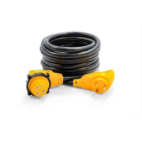 Camco 30Amp Power Grip 25' Extension Cord Locking Adapter