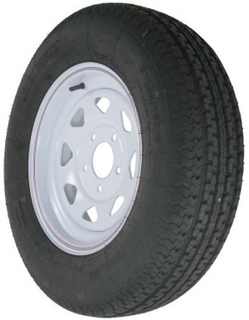 "15"" Radial Tire & Wheel 205/75R 15C-5LP"
