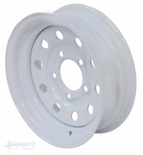 "12"" WHEEL- 5 LUG- WHITE"