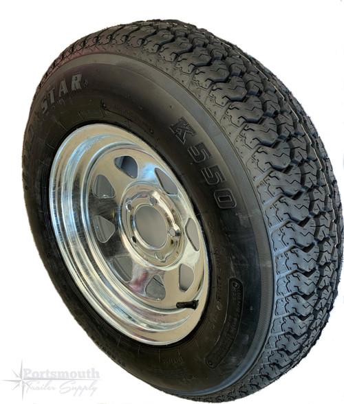 "14"" Bias Ply Tire & Wheel  205/75D14"